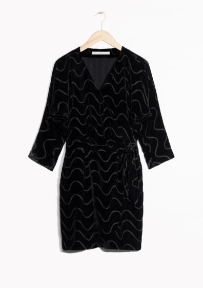 velvet-wrap-dress