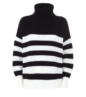 black-stripe-chunky-roll-neck-jumper