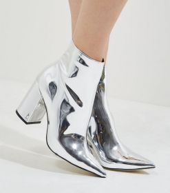 silver-mirror-pointed-heeled-ankle-boots