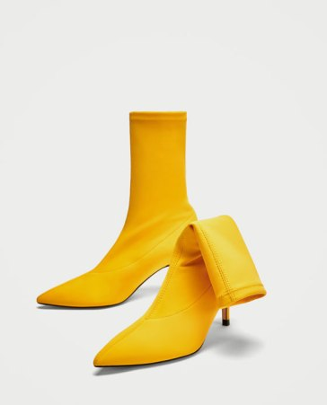 yellow sock