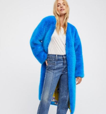 free people faux fur