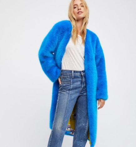 free people faux fur