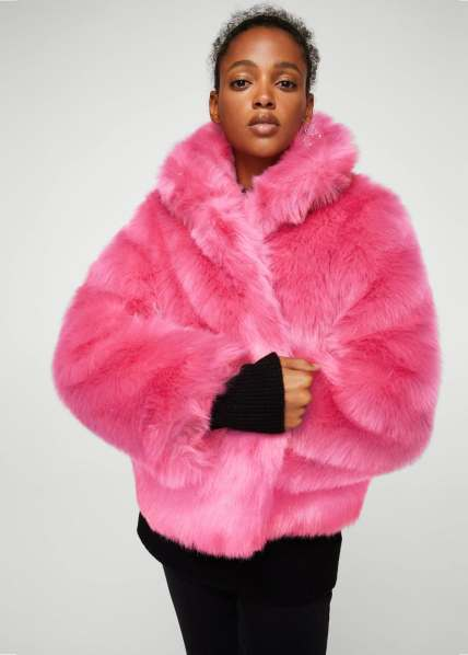 mango pink fur