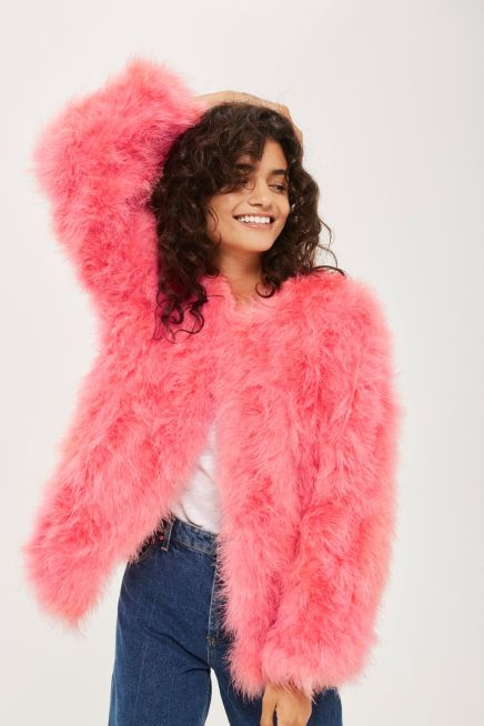 topshop feather
