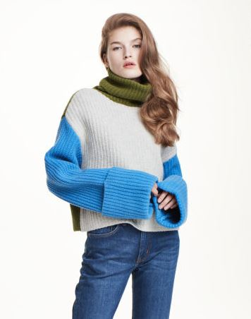 hm polo neck sweater