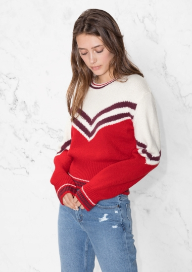 other stories varsity sweater