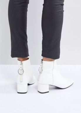 asos white boot