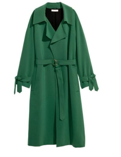 HM green trench