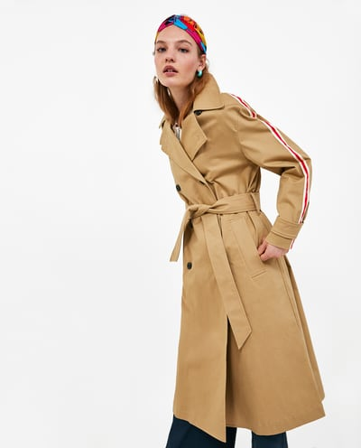 zara side stripe mac